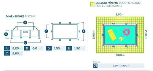 Intex 28270 Piscina Rettangolare, senza Pompa Filtro, 220 x 150 x 60 cm 5 spesavip