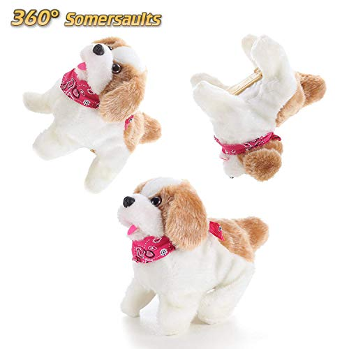 Liberty Imports Cute Little Puppy - Flip Over Dog, Somersaults, Walks, Sits, Barks by Liberty Imports (Image #2)