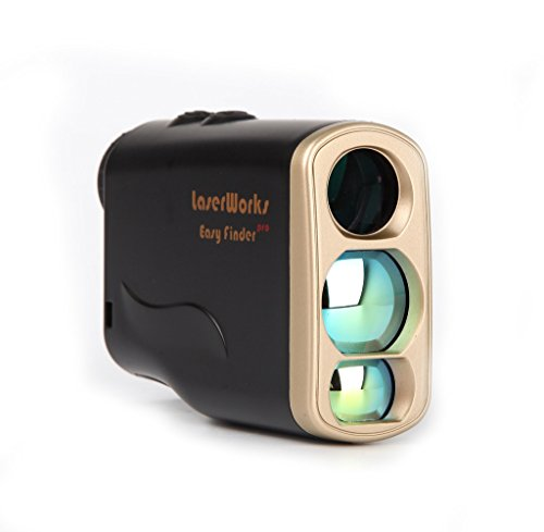 LaserWorks LW1000PRO Professional-Class Laser Rangefinder for Hunting and Golf,Fog Measurement,Waterproof Rangefinder