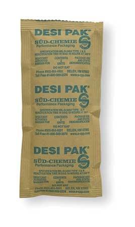 Desiccant, Kraft Packet, 1.67 cu ft, PK150