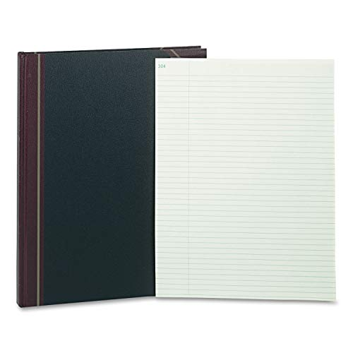 (Rediform Texhide Record Ruled Book, 14 1/4 x 11 1/4, Eye Ease GN, 300 Sheets - 58400)