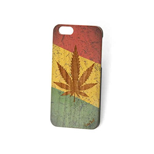 Custom Engraved Weed Uv Wood Case For iPhone 5/5s/SE, iPhone 6/6s, iPhone 6 Plus/6s Plus and Samsung S5 (iPhone 6 Plus/6s Plus)