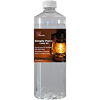 Amazon.com: Firefly Candle and Lamp Oil - 32 oz - Smokeless ...