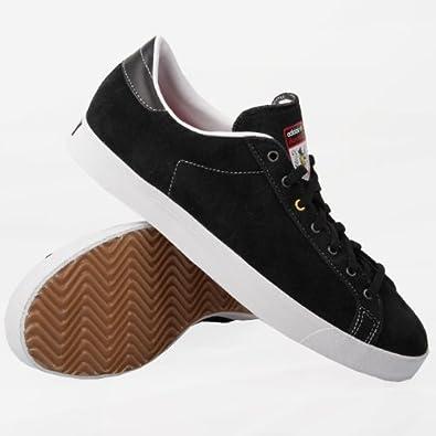 Adidas Skate Rod Laver Vin Black White Yellow 42.5  Amazon.co.uk  Shoes    Bags 700f64ca0
