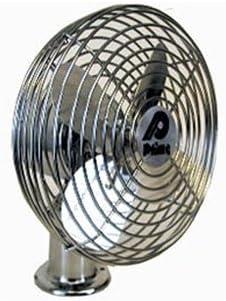 MVP 2 2 Fans Blade All Metal 12 Volt Dash Fan 6 Dia PF12M