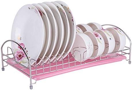 WiaLx Rack de lavavajillas de Cocina compacta Duradera para secar ...