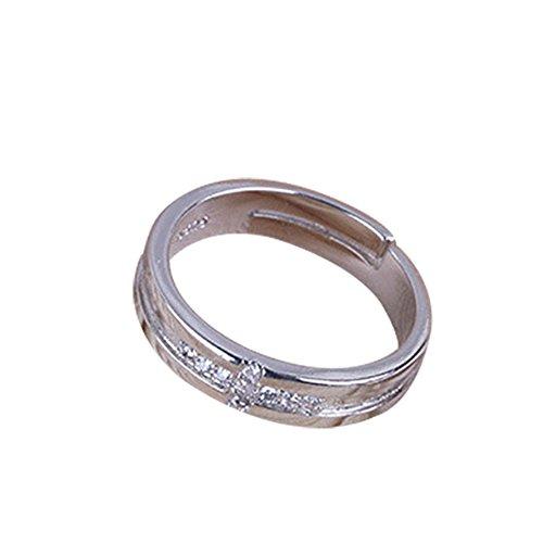 af8c59e808c outlet Drawihi Anillos de pareja corona Estilo de la Mujer de Apertura  Metal-Ajustable Regalo