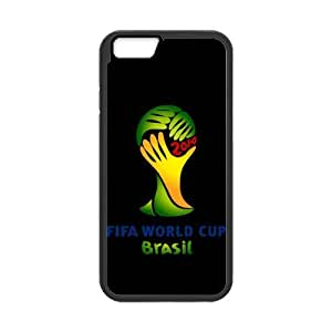 iPhone 6 Case, [World cup] iPhone 6 (4.7) Case Custom Durable Case Cover for iPhone6 TPU case(Laser Technology) by runtopwell
