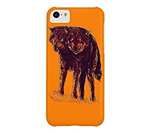 2heads iPhone 5c Apple Orange Barely There Phone Case - Design By Humans