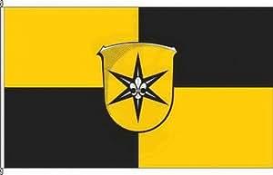 Bandera de la bandera de Waldeck–60x 90cm