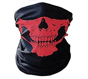 J*myi Nice Mask Face for Motorcycle and Bicycle with the Image of Skeleton Skull WAWO