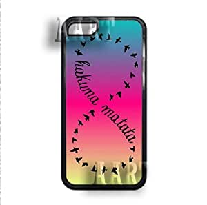 Hakuna Matata case cover - iPhone 5C / iPhone 5C / iPhone 5C - Black Case - AArt #0099
