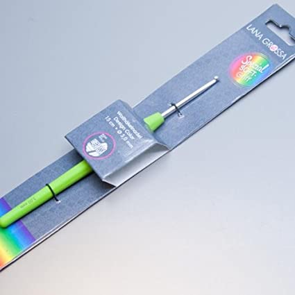 Lana Grossa Häkelnadel Design Mit Soft Griff Stärke 40 Voilett