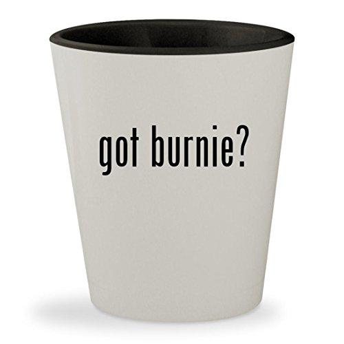 Belmont Light Bar (got burnie? - White Outer & Black Inner Ceramic 1.5oz Shot Glass)