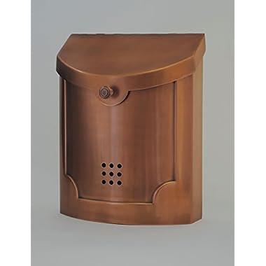 Ecco E4 Wall Mount Mailbox Copper Plated