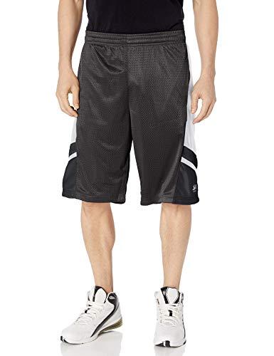 Southpole Men's Basic Basketball Mesh Shorts