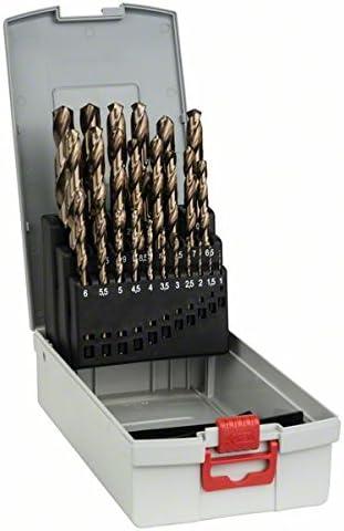 Juego 25 Brocas Bosch para Metal HSS-Co (Cobalto)
