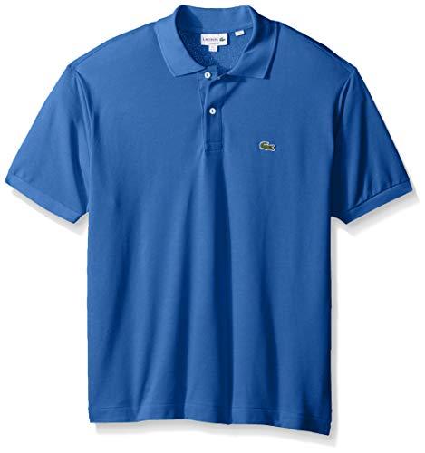 Lacoste Men's Classic Short Sleeve L.12.12 Pique Polo Shirt,blue - Royal Blue Polo Pique