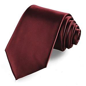 KissTies Boys' Tie Satin Necktie For Kids Boys Ties + Gift Box