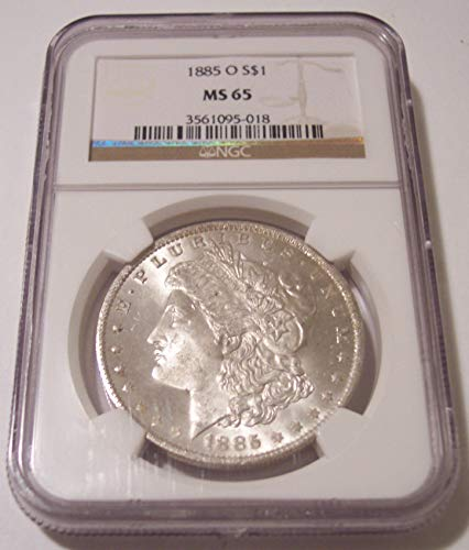 1885 O Morgan Silver Dollar MS65 NGC