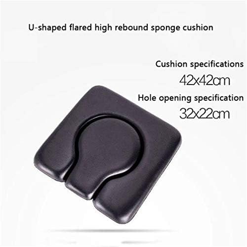 Bbhhyy Toilettenstuhl Schwangere Frauen-WC for Behinderte Folding Mobiltoilette Haushalts Hocker Verstärkte Anti-Rutsch (Color : A)