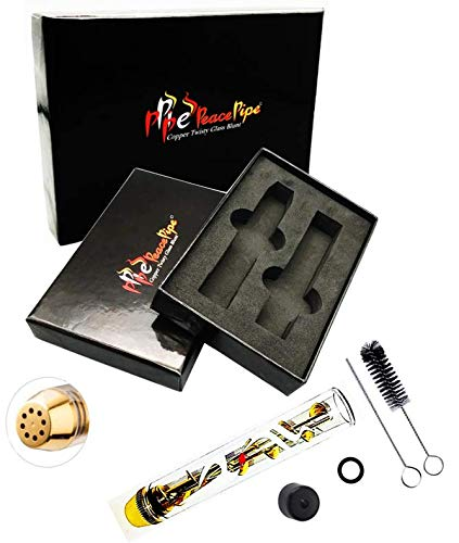 7Pipe-The Original Twisty Glass Blunt Extra Accessories in Gift Box +1x Blunt +2x Caps +1x Bag +1x O-Ring +1x Brush +1x Tool +1x Spare Glass +1x