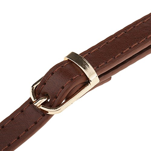 Handles Shoulder MagiDeal Straps Black Length DIY 120cm Handbag Brown Adjustable Bag Adjustable Accessories q00ZxS6p