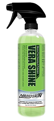 (Nanoskin NA-VSE16 Vera Shine Silicone Free Dressing & Protectant-16 oz, 16. Fluid_Ounces)