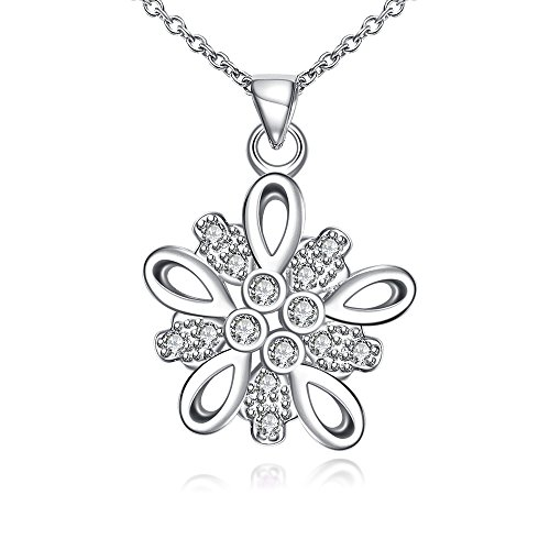 [Womens Crystal Eternal Pendant Necklace Fashion Jewelry for Women-Gail D. Billings (White)] (White Swan Costume Australia)