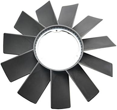 BOXI Radiator Cooling Fan Blade and Fan Clutch Kit for BMW E32 E34 E36 E39 E46 E53 323i 325i 328i 525i 528i 530i 735i 735iL M3 X5 Z3 Replaces 11521712058 11527505302