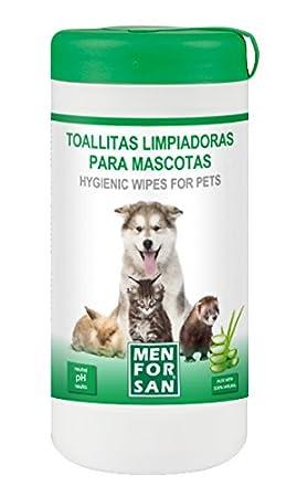 MEN FOR SAN M0286 Toallitas Limpiadoras Multiusos, 60 Unidades: Amazon.es: Productos para mascotas