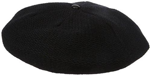 Soia & Kyo Women's Bayley Knit Beret, Black, One Size - Kyo Black Wool