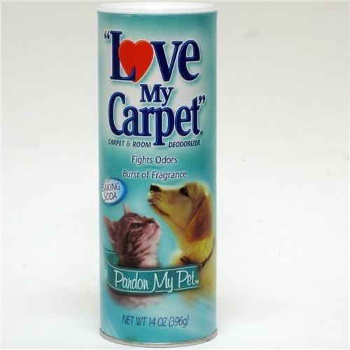 Love My Carpet ''Pardon My Pet'' Rug & Room Deodorizer (Pack of 6)