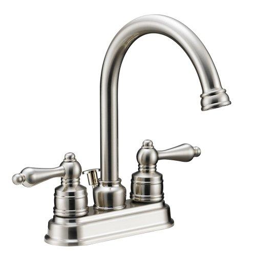 bathroom faucets satin nickel - 4