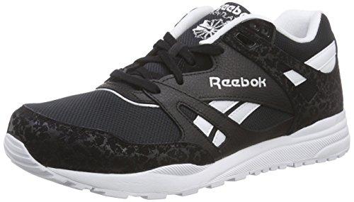 Noir is de Chaussures Noir Homme Blanc Reebok Course Ventilator A5w0q0
