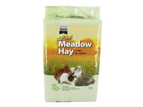 (2 Pack) Supreme - Natural Meadow Hay 2kg
