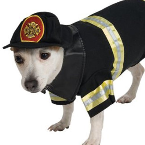 Image of Rubie's Fire Fighter Pet Costume, X-Large