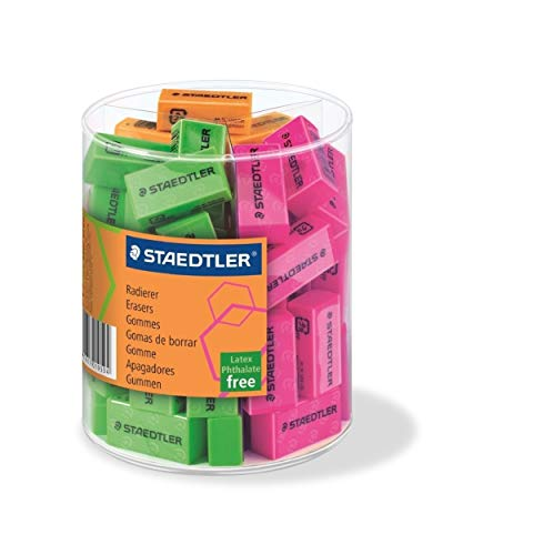 Staedtler 526F Eraser in A Display Pack of 60, Sizing by STAEDTLER (Image #1)
