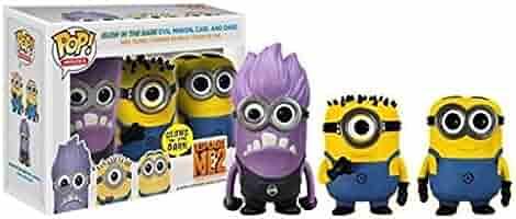 Funko - Pack 3 Figurines Moi Moche et Méchant - Les Minions Pop ...