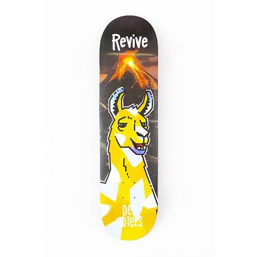 Revive Doug Des Autels Llama Spirit Animal Skateboard Deck (8.0)