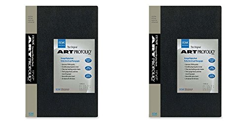 Itoya Art Portfolio  8x10-Inch Storage Display Book (Pack of 2) by ITOYA