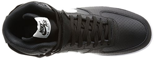 Nike Air Force 1 High '07, Zapatillas de Baloncesto para Hombre Negro (Black / White-White)