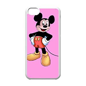 iPhone 5c Cell Phone Case White Mickey Mouse 002 HIV6755169486359