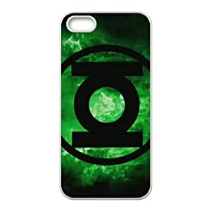iPhone 5 5s Cell Phone Case White Green Lantern Bldc