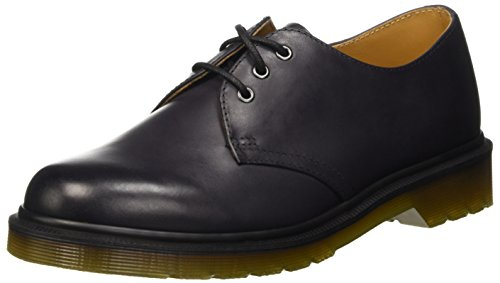 Charcoal Antique Dr Temperley 1461 Unisex Derby Martens Stringate Scarpe SttZwI4Eq