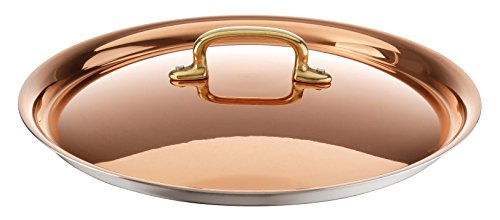 Paderno World Cuisine Copper-Stainless Steel Lid, 9 1/2-Inch by Paderno World Cuisine