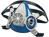 MSA Medium Thermoplastic Rubber Advantage® 200 LS Half Mask Dual Cartridge Respirator With Single Neckstrap