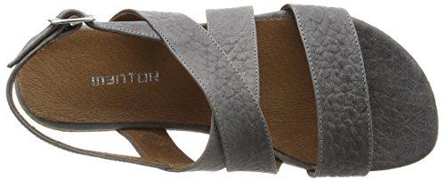 Sandal Grau Sandales Gris Plateforme Mentor Fille Cork Elephant Y58qcwv