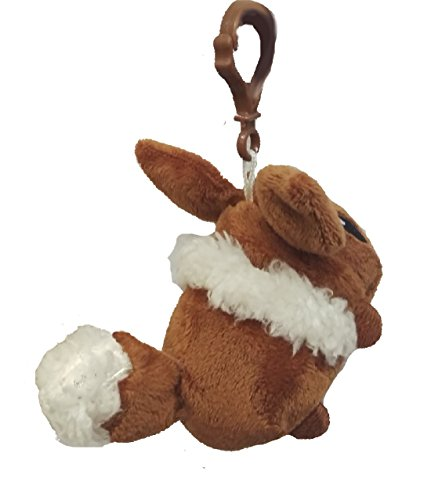 New Pokemon Eevee Plush Backpack Clip 3.5