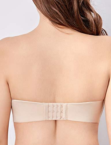 9bd3e161d66da DELIMIRA Women s Full Figure Underwire Contour Multiway Strapless Bra Plus  Size